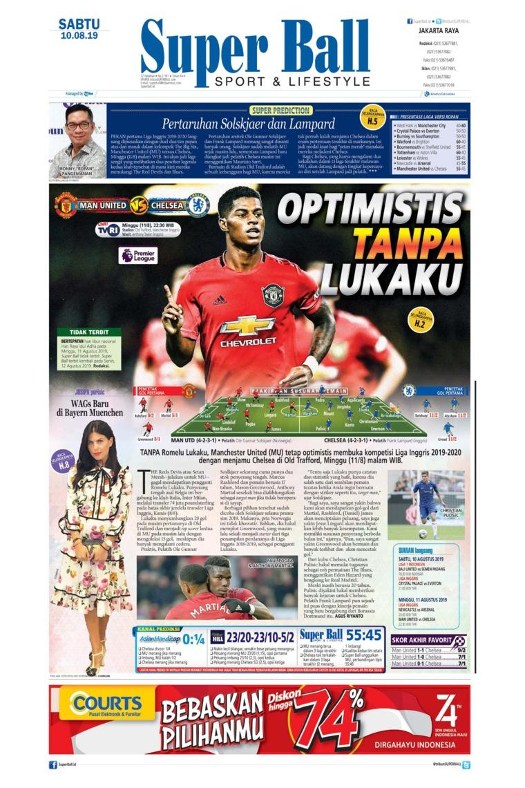 Superball Digital Newspaper 10 August 2019