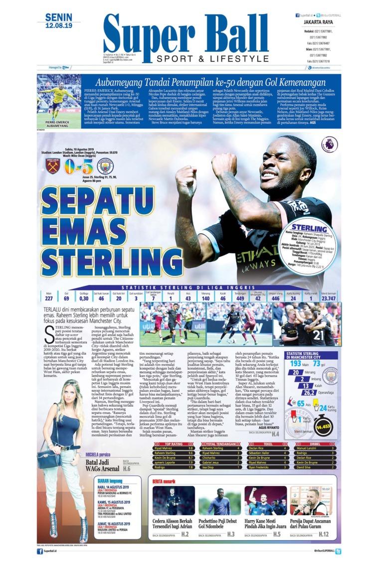 Superball Digital Newspaper 12 August 2019