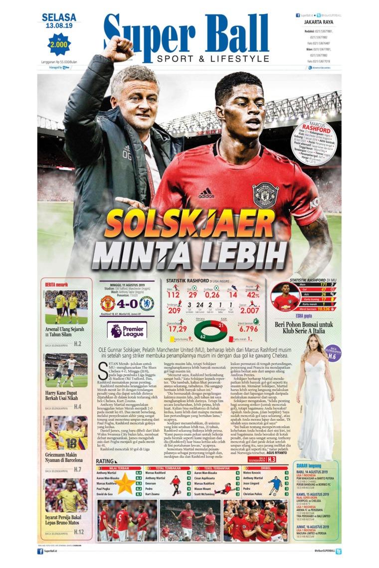 Superball Digital Newspaper 13 August 2019