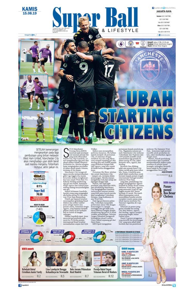 Superball Digital Newspaper 15 August 2019