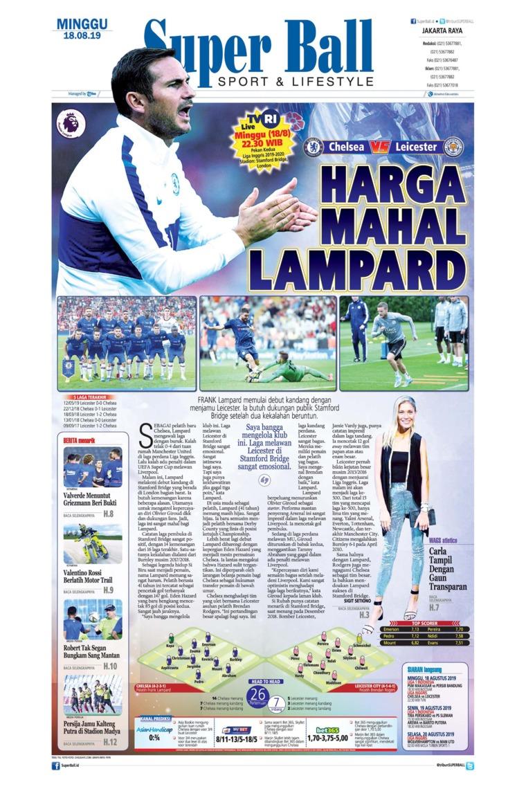 Superball Digital Newspaper 18 August 2019