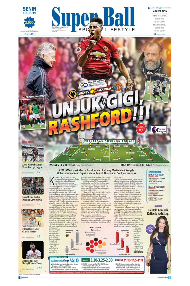 Superball Digital Newspaper 19 August 2019