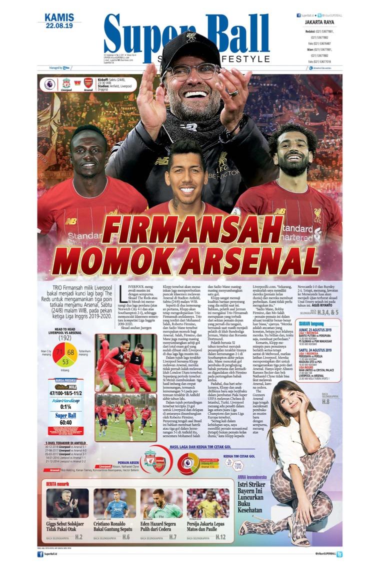 Superball Digital Newspaper 22 August 2019