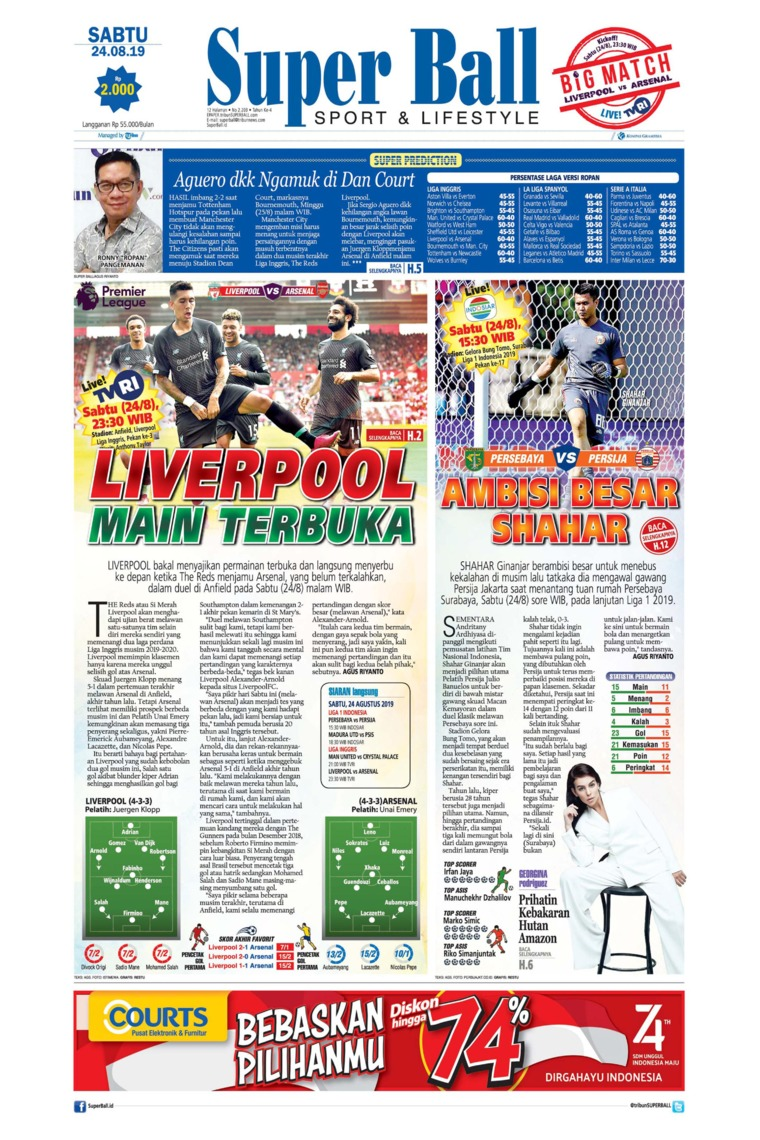 Superball Digital Newspaper 24 August 2019