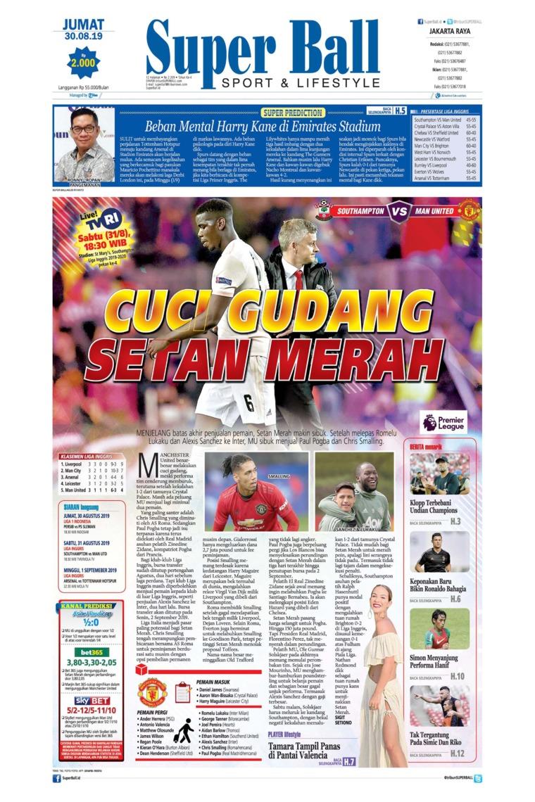 Superball Digital Newspaper 30 August 2019