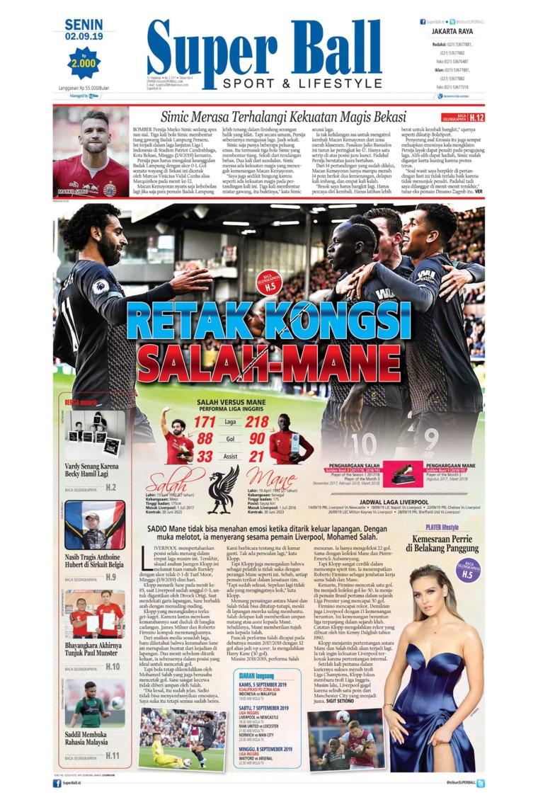 Superball Digital Newspaper 02 September 2019