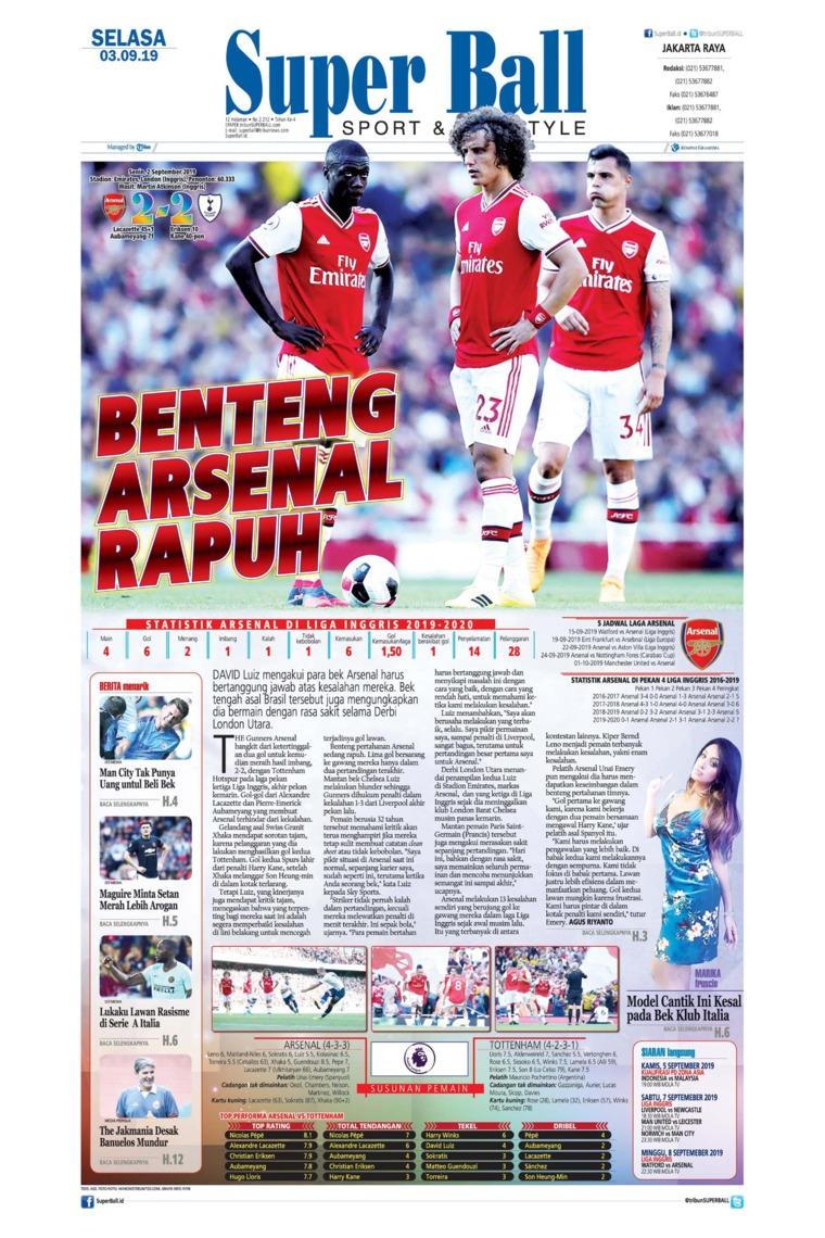 Superball Digital Newspaper 03 September 2019