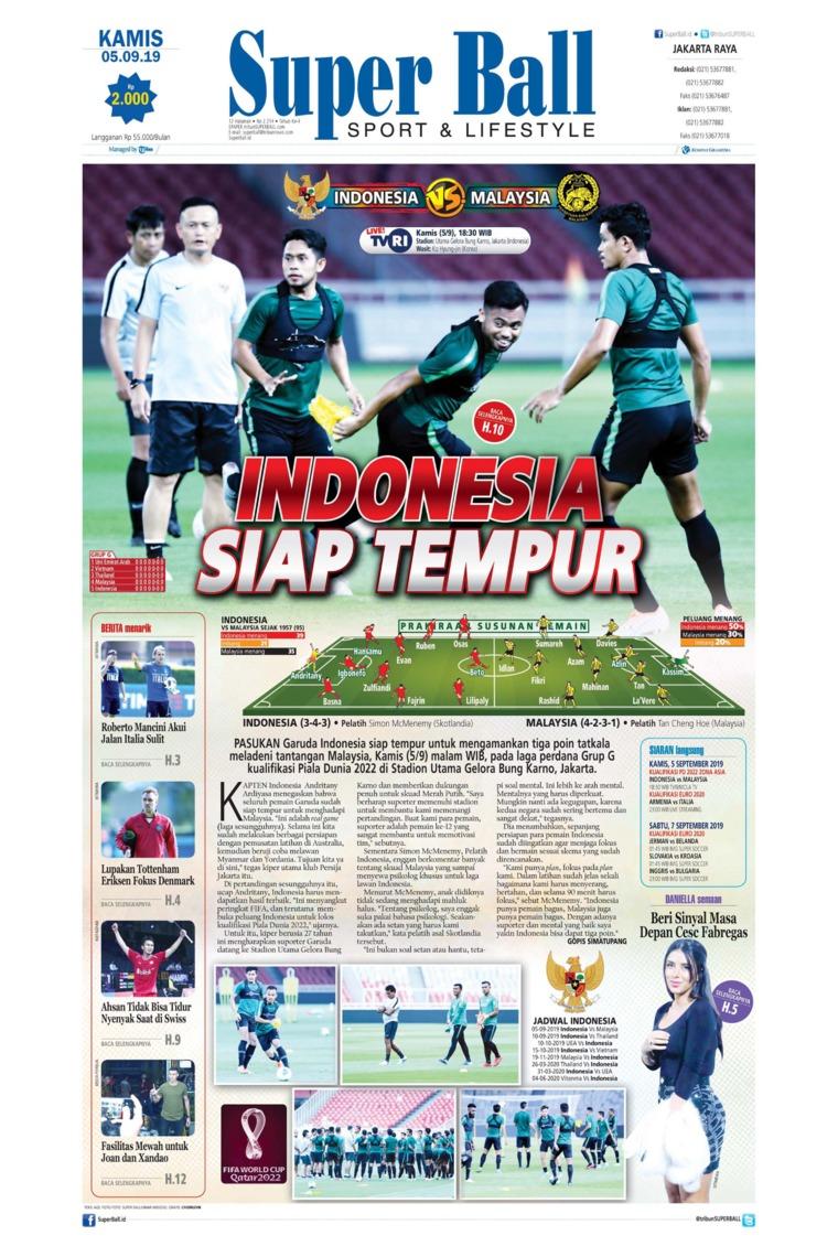 Superball Digital Newspaper 05 September 2019