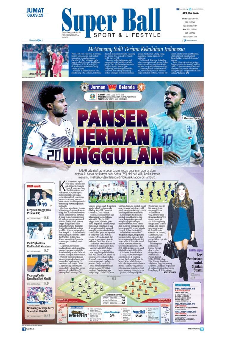 Superball Digital Newspaper 06 September 2019