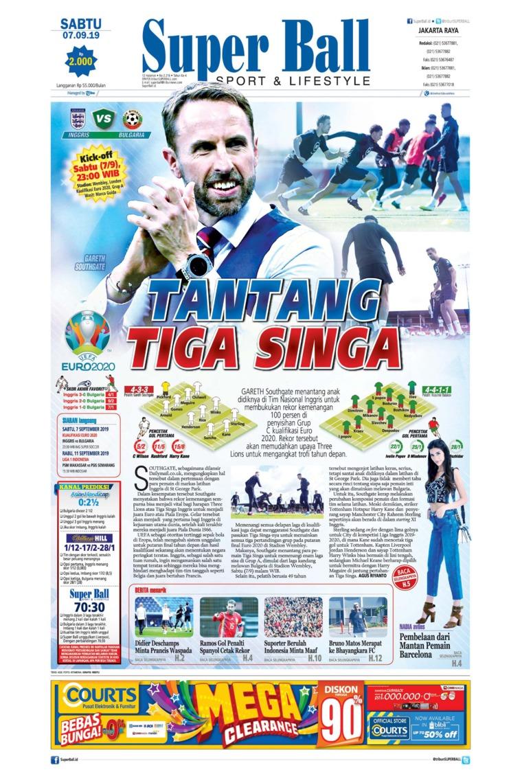 Superball Digital Newspaper 07 September 2019