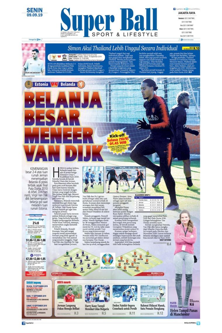 Superball Digital Newspaper 09 September 2019