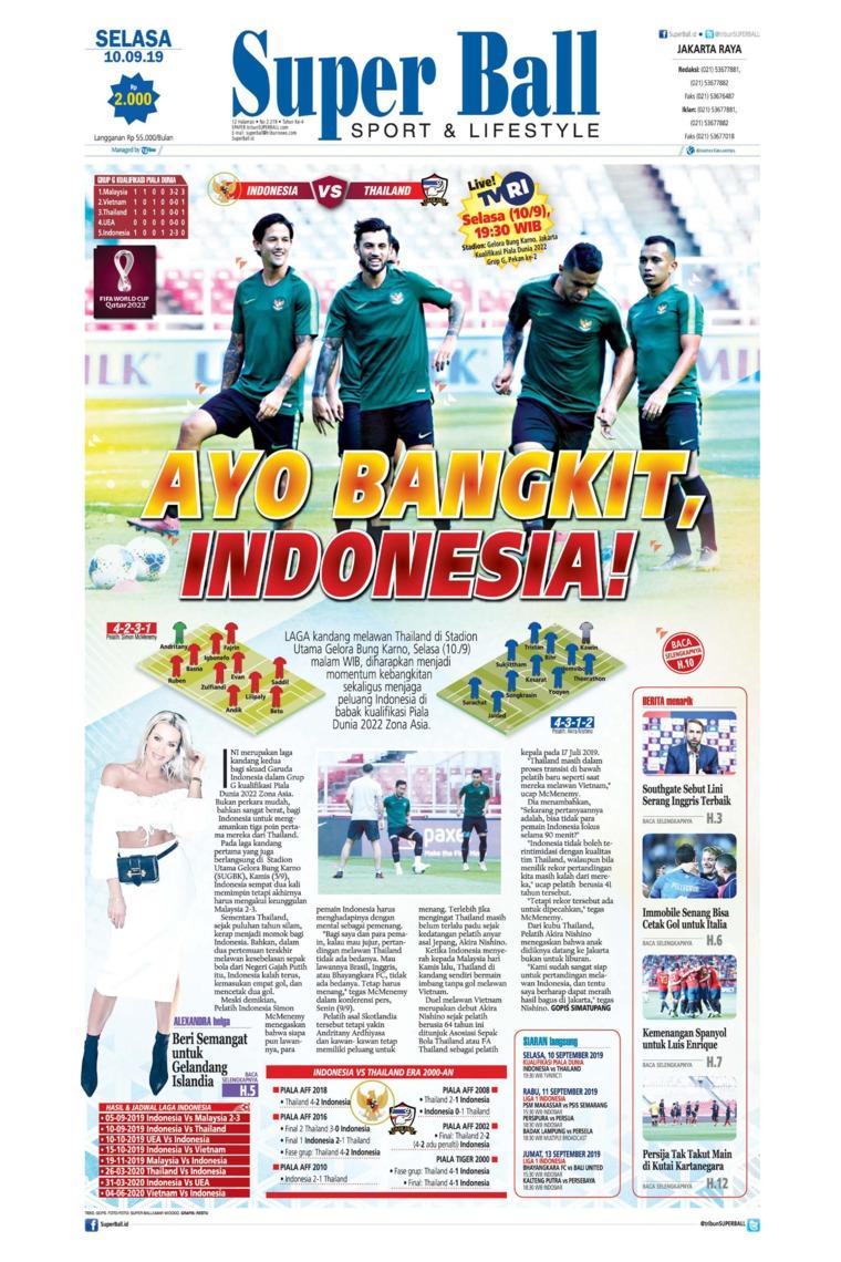Superball Digital Newspaper 10 September 2019
