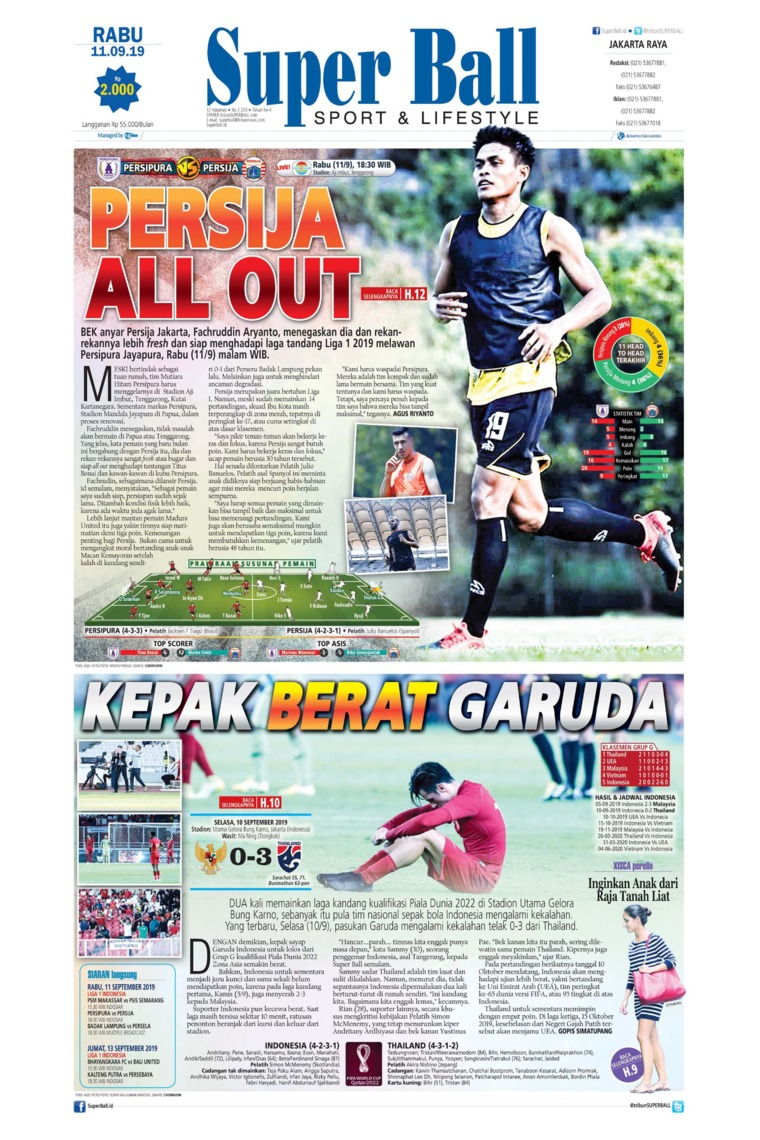 Superball Digital Newspaper 11 September 2019