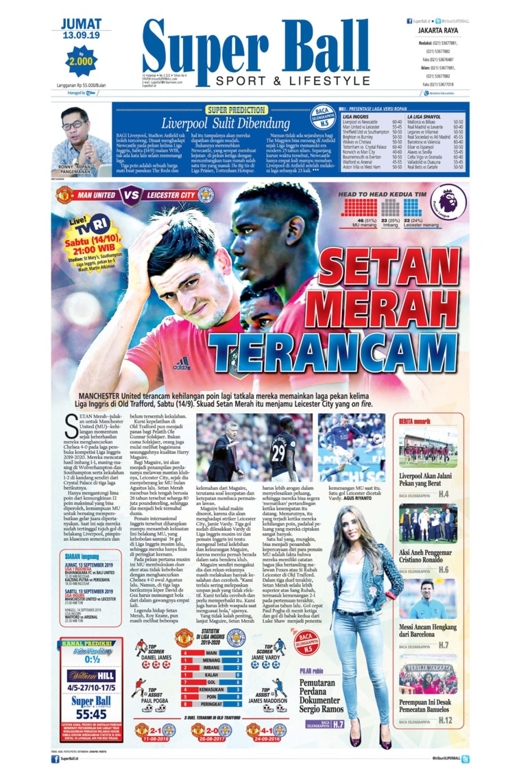 Superball Digital Newspaper 13 September 2019
