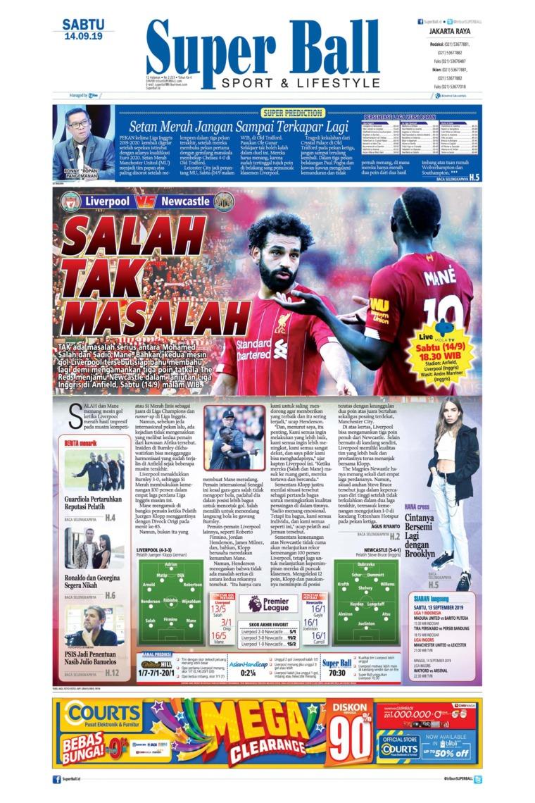 Superball Digital Newspaper 14 September 2019