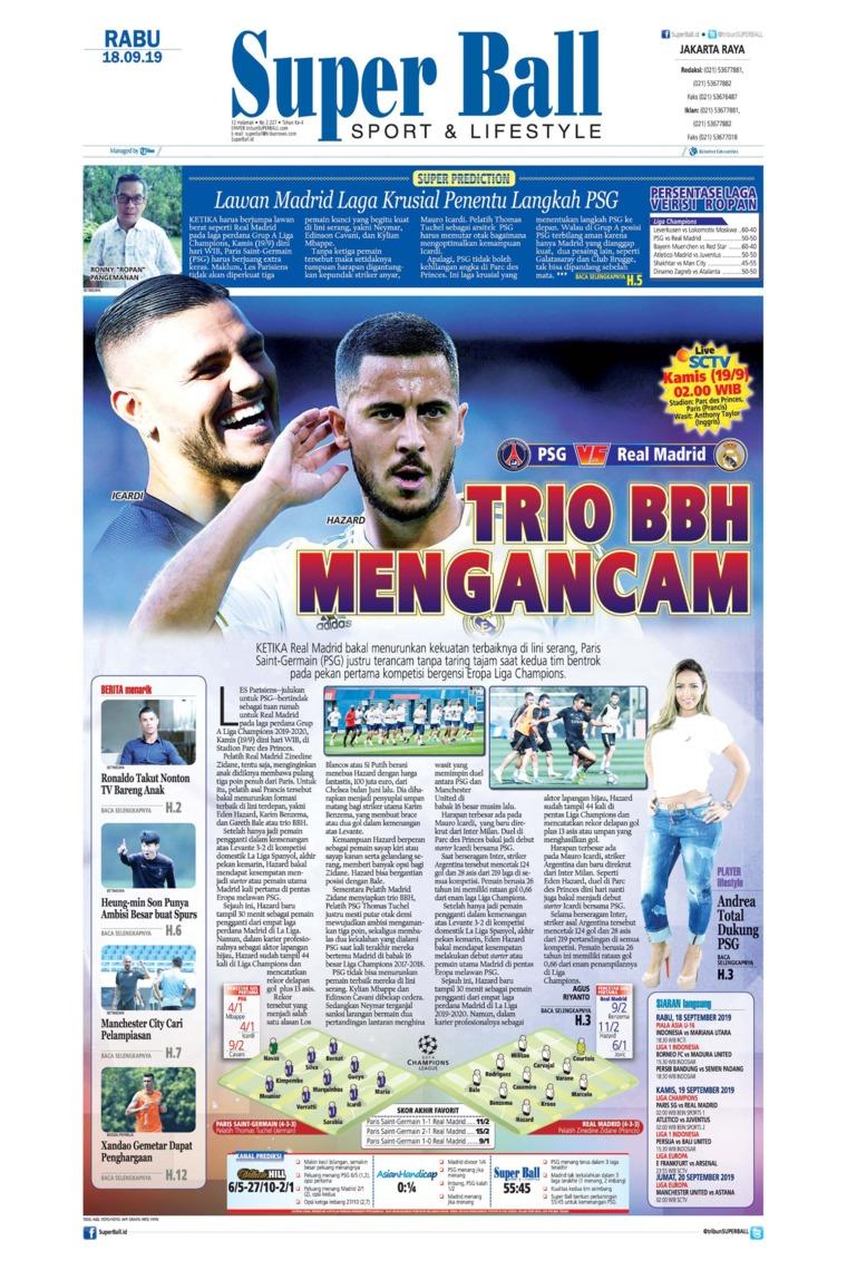 Superball Digital Newspaper 18 September 2019