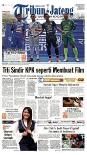 Cover Tribun Jateng 18 Maret 2018