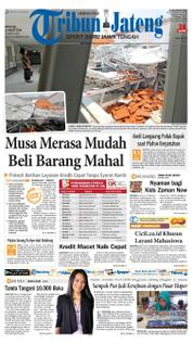 Cover Tribun Jateng 19 Maret 2018