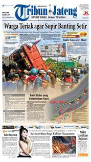 Cover Tribun Jateng 21 Maret 2018