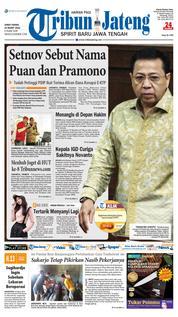 Cover Tribun Jateng 23 Maret 2018