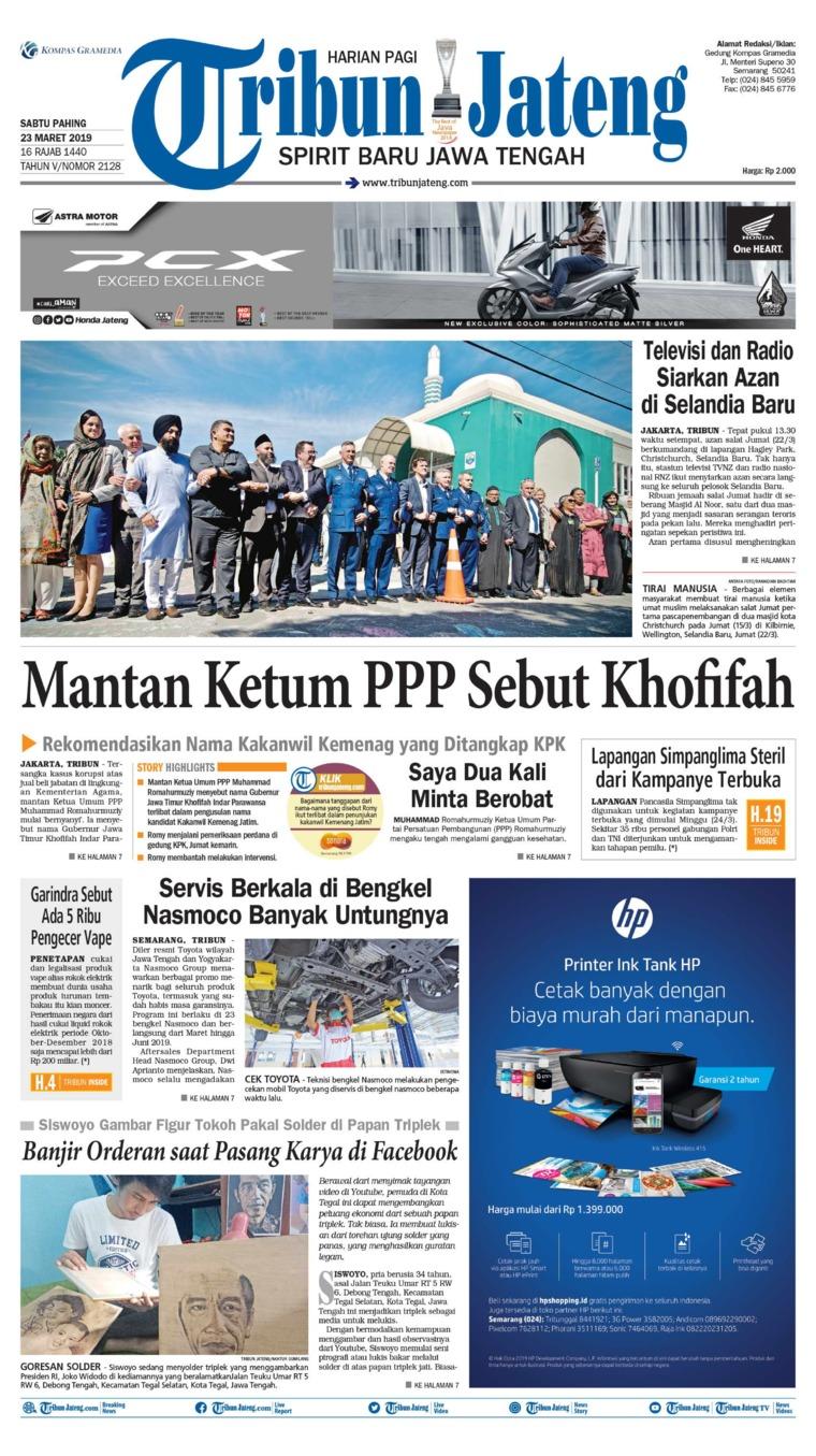 Koran Digital Tribun Jateng 23 Maret 2019