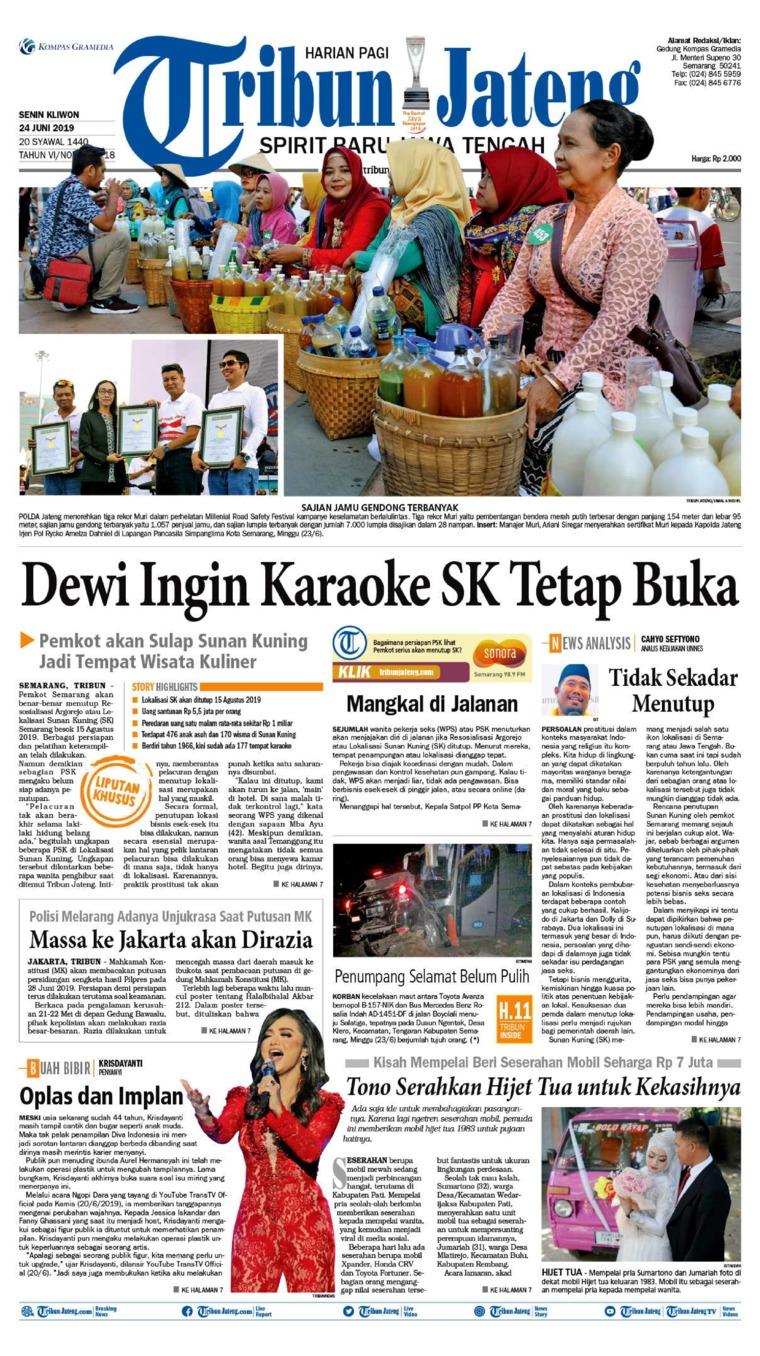Koran Digital Tribun Jateng 24 Juni 2019