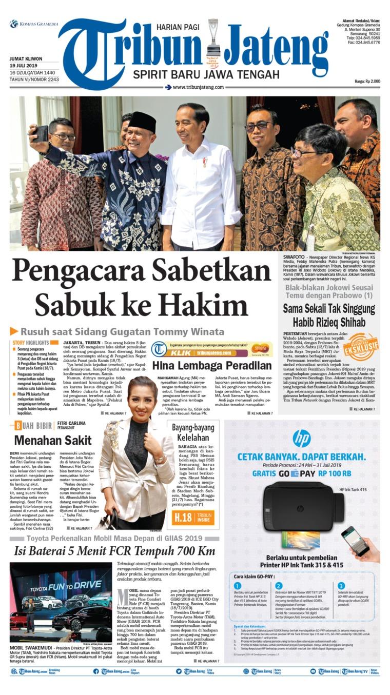 Koran Digital Tribun Jateng 19 Juli 2019