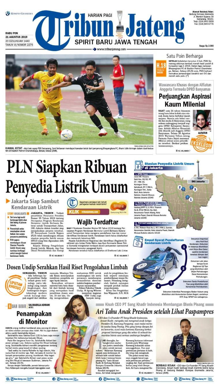 Koran Digital Tribun Jateng 21 Agustus 2019