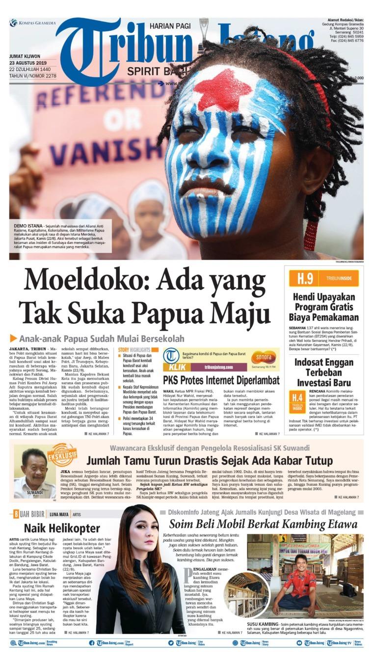 Koran Digital Tribun Jateng 23 Agustus 2019