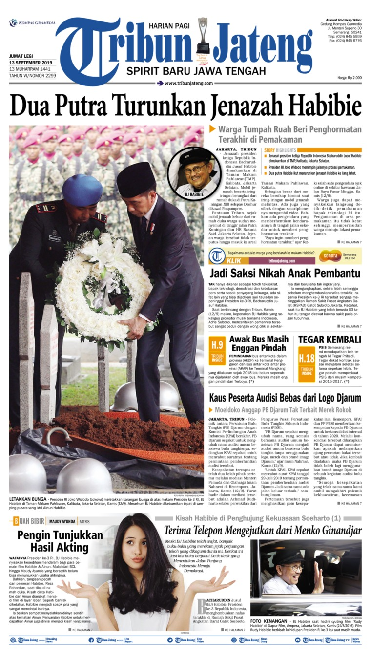 Koran Digital Tribun Jateng 13 September 2019