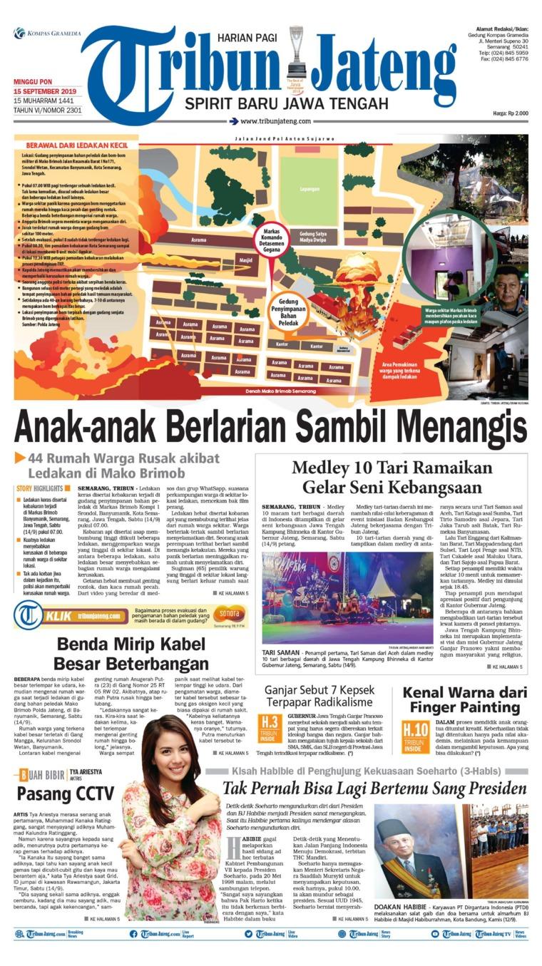 Koran Digital Tribun Jateng 15 September 2019