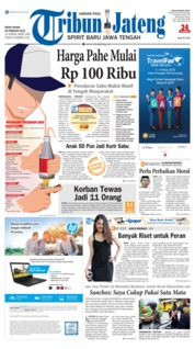 Cover Tribun Jateng 26 Februari 2018
