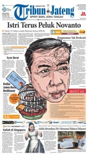 Cover Tribun Jateng 25 April 2018