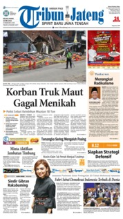 Cover Tribun Jateng 22 Mei 2018