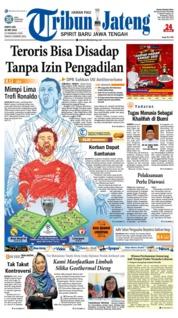 Cover Tribun Jateng 26 Mei 2018