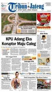 Cover Tribun Jateng 27 Mei 2018