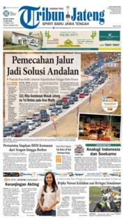 Cover Tribun Jateng 19 Juni 2018
