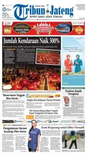 Cover Tribun Jateng 20 Juni 2018
