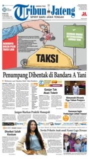 Cover Tribun Jateng 17 Juli 2018