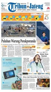 Cover Tribun Jateng 20 Juli 2018