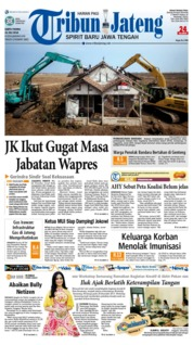 Cover Tribun Jateng 21 Juli 2018
