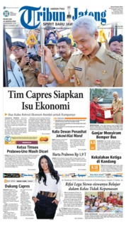 Cover Tribun Jateng 14 Agustus 2018