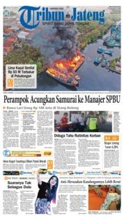 Cover Tribun Jateng 18 September 2018
