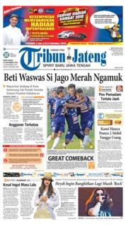 Cover Tribun Jateng 24 September 2018