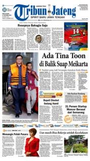 Cover Tribun Jateng 17 Oktober 2018