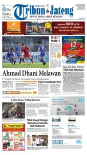 Cover Tribun Jateng 19 Oktober 2018