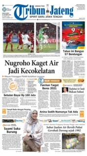 Cover Tribun Jateng 22 Oktober 2018