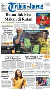 Cover Tribun Jateng 23 Oktober 2018