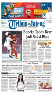 Cover Tribun Jateng 14 November 2018