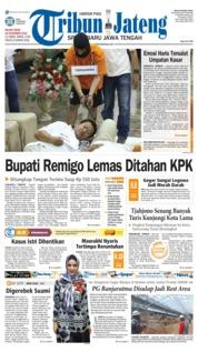 Cover Tribun Jateng 20 November 2018